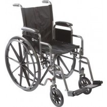 K-1 Lite Wheelchair with Elevating Leg Rests