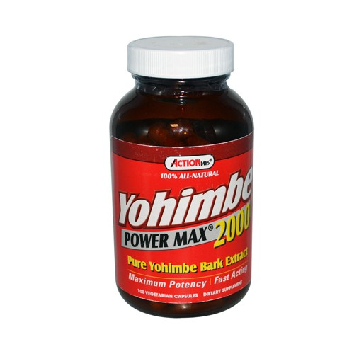 Action Labs Yohimbe Power Max 2000 Natural Aphrodisiac