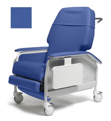 lumex extra wide clinical care geri chair recliner 214