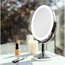 HUNTINGTON LED Oval Rechargeable Vanity Mirror