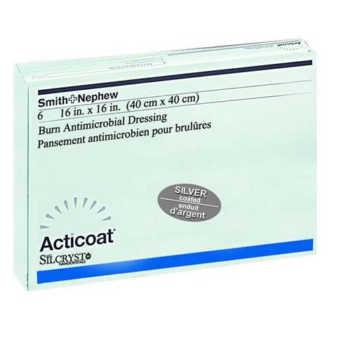 Acticoat Silver-Coated Antimicrobial Barrier Dressings