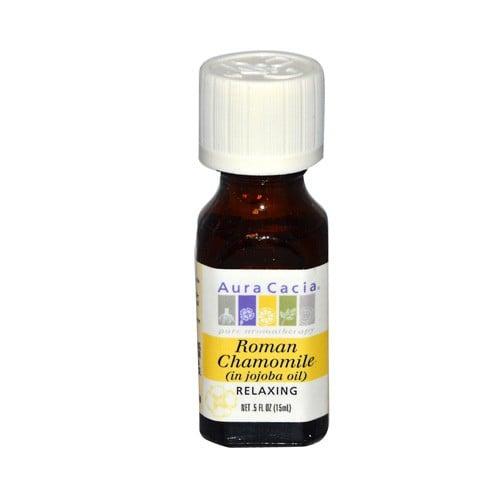 Aura Cacia Aromatherapy Roman Chamomile Pure Essential Oil