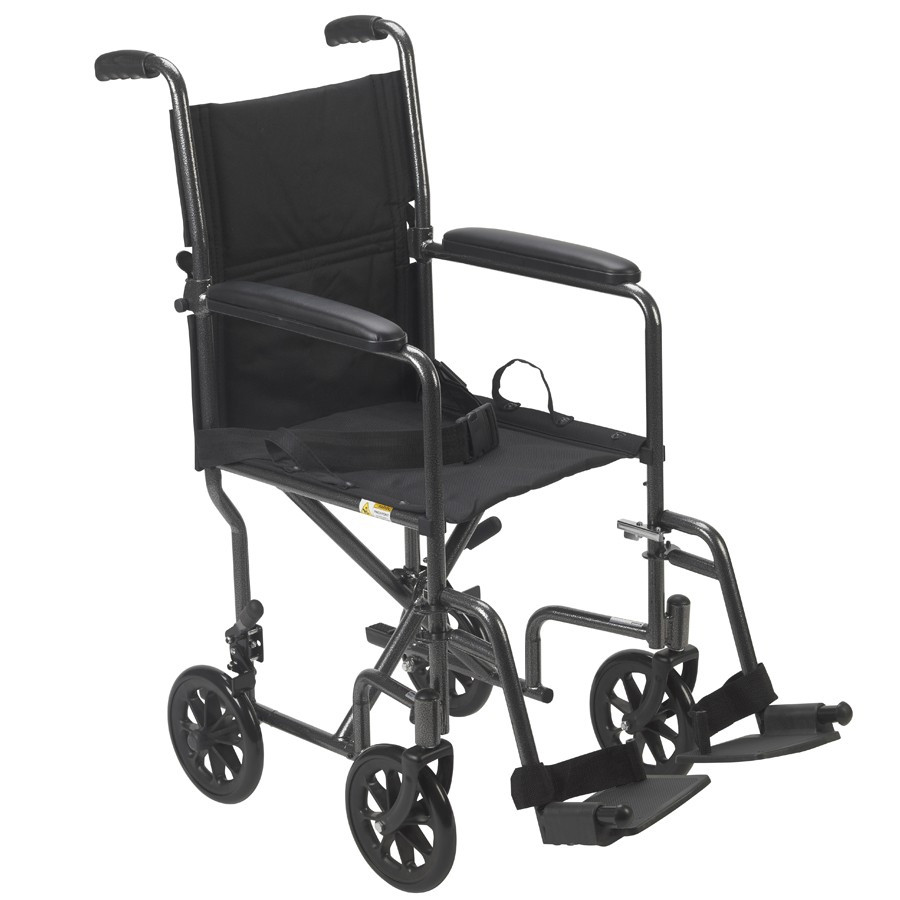 economy steel transport chair by drive 645