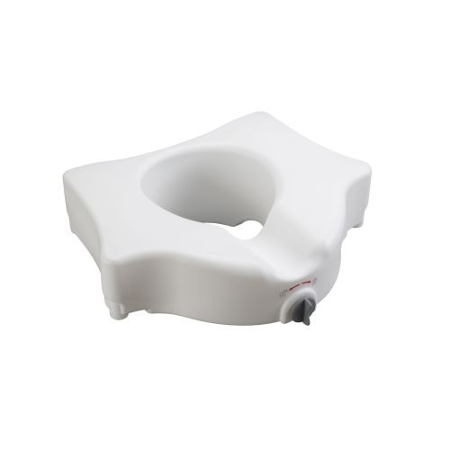 Elevated Toilet Seat without Arms
