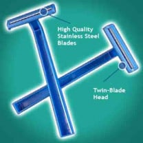 Val-U-Shave Twin Blade Disposable Razors