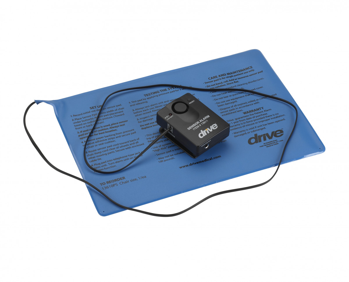 Drive Pressure Sensitive Chair And Bed Patient Alarm
