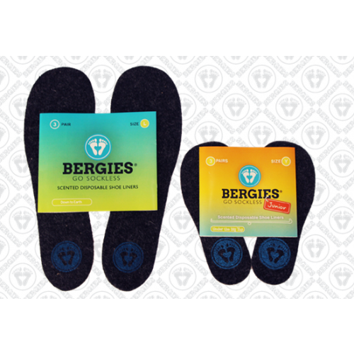 Bergies Scented Shoe Liner Insoles