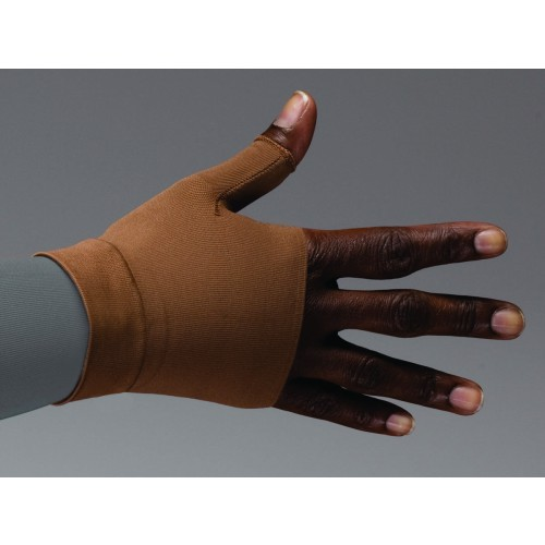 LympheDivas Mocha Compression Gauntlet 20-30 mmHg
