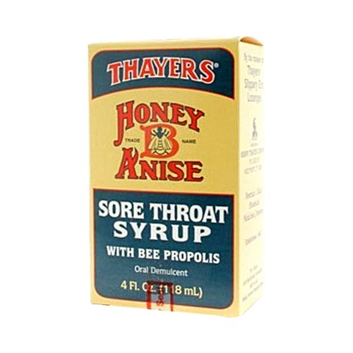 Thayers Honey B Anise Sore Throat Syrup