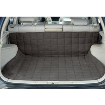Deluxe Auto Cargo Mat Reversible Suede & Sherpa