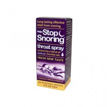Essential Health Helps Stop Snoring Throat Spray