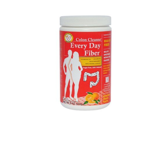 Health Plus Orange Flavor Every Day Fiber Dietary Supplement