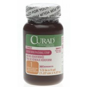 CURAD Iodoform Gauze 1/2 Inch Packing Strips