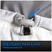 Quilted Nylon Heated Vest Adjustable Hem