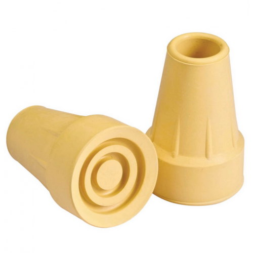Crutch Tips Long Life Extended Wear 7/8 Inch