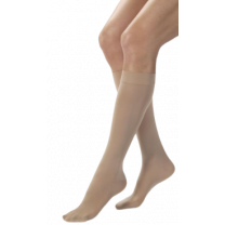 Jobst Opaque Knee High Compression Socks CLOSED TOE 15-20 mmHg