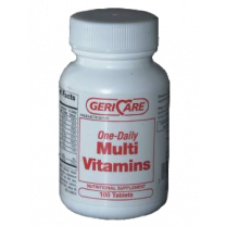 Multi-Vitamin Supplement Tablets by GeriCare