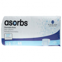 Absorbs Ultra-Soft Plus Briefs