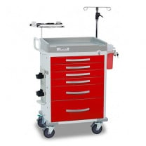 Rescue Emergency Room Medical Carts