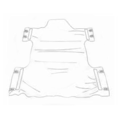 Dacron Commode Lift Sling without Head Support