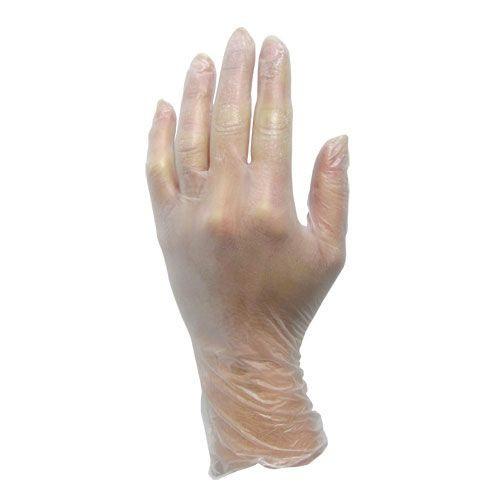 ProWorks Vinyl Clear Powdered Gloves