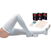 TED Hose Thigh High Open Toe Anti-Embolism Compression Stockings - Latex Free