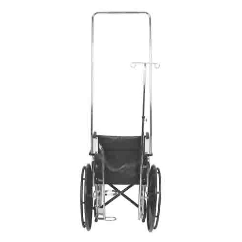 Wheelchair IV Pole Attachment