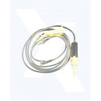 Exel IV Administration Set 29081 | 78 Inch 15 Drop/mL Luer Slip