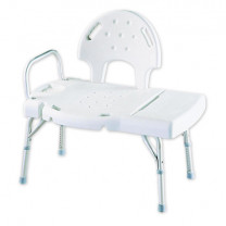 Invacare Transfer Bench w/Optional Commode - 9670
