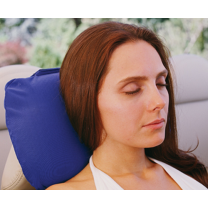 Blue Stimulite Wellness Travel Pillow