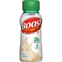 Boost High Protein Vanilla Nutritional Drink, 8 oz Bottle