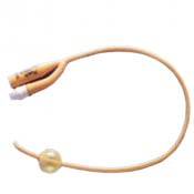 Rusch Coude Tip PTFE Coated Latex Foley Catheter