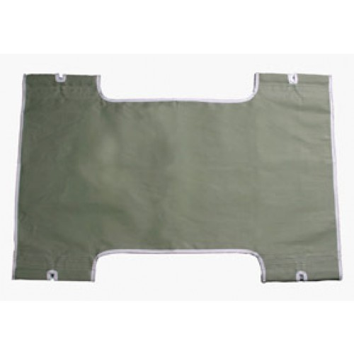 Patient Lift Sling with Commode Cutout Option