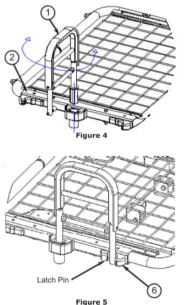 joerns hospital bed rails a98