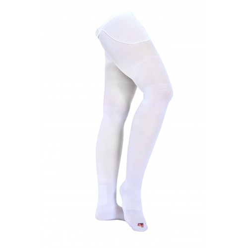VENOMEDICAL USA AES Thigh High Compression Stockings OPEN TOE 12-18 mmHg Anti EmboliSmall
