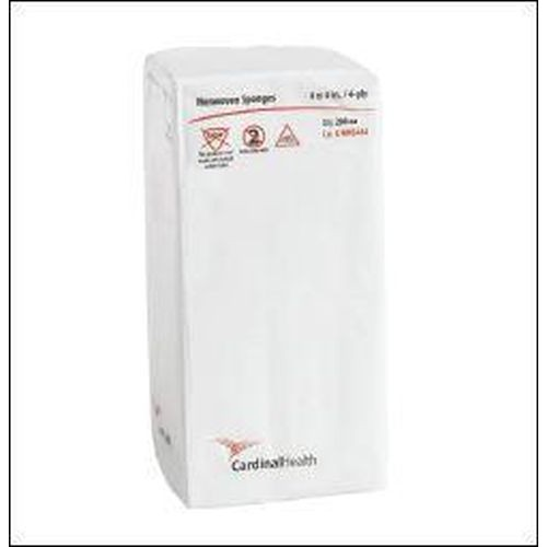 Cardinal CNWS444 NonWoven 4x4 Inch Sponges 4-Ply