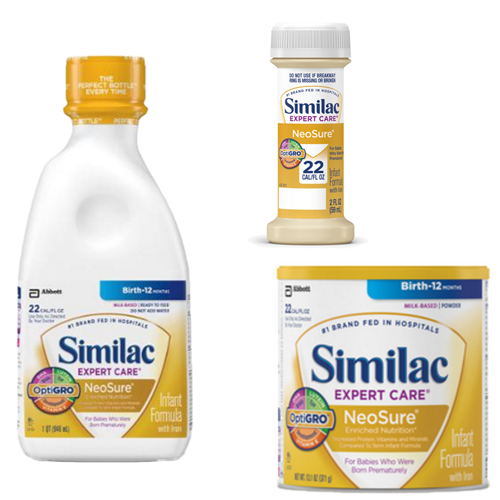 similac expert care neosure with optigro infant formula 593