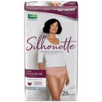 Depend Silhouette Classic Incontinence Underwear for Women
