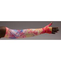 LympheDivas Sunburst Compression Arm Sleeve 20-30 mmHg w/ Diva Diamond Band