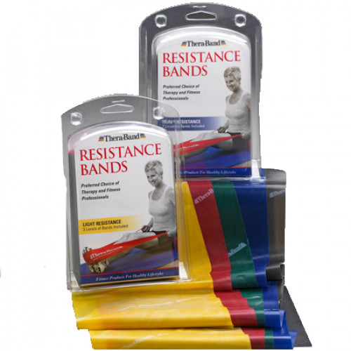 Thera Band Assorted Exercise Bands 5 Feet