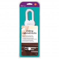 KidCo Sliding Cabinet Locks - White