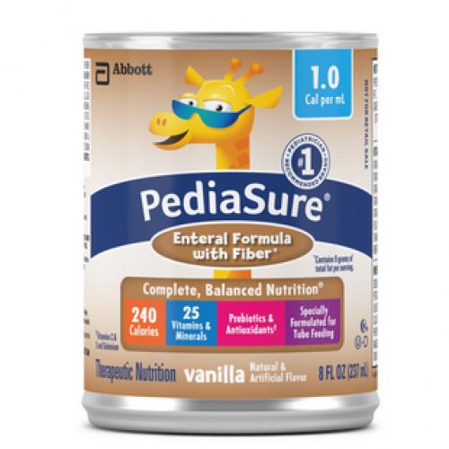 PediaSure 1.0 Enteral Formula with Fiber, 8 oz Can Vanilla