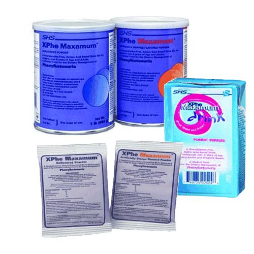 XPhe Maxamum Formula for Phenylketonuria PKU