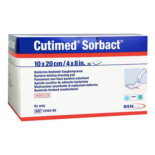 Cutimed Sorbact Dressing Pad 7216300