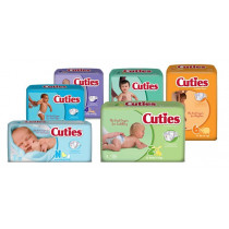 Cuties Disposable Baby Diapers