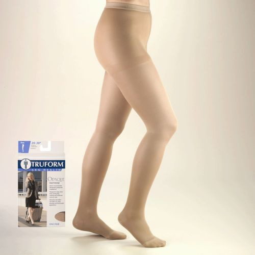 TruForm Opaque Pantyhose 20-30 mmHg