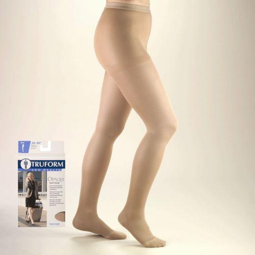TruForm Opaque Pantyhose 20-30 mmHg