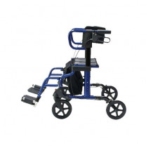 Lumex HybridLX Rollator Transport Chair