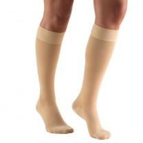 AW Style 207 Medical Support Knee Highs Closed Toe w/ Silicone Band – 20-30 mmHg