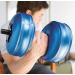 AquaBells Travel Weights Dumbells